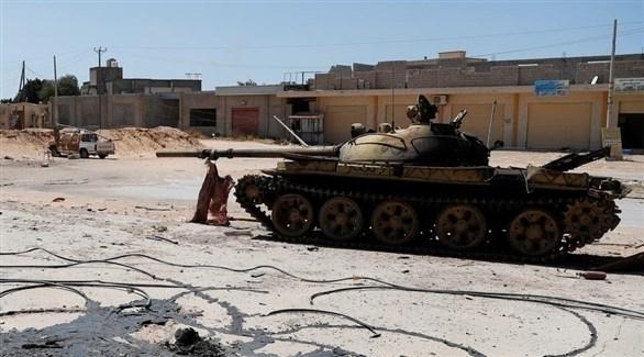 دبابة تركية في مصراتة الليبية (أرشيف)