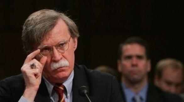 مستشار الأمن القومي الأمريكي جون بولتون(أرشيف)