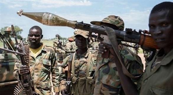 جنود في جنوب السودان (أ ف ب)
