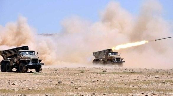 قاذفات صواريخ تابعة للجيش السوري (أرشيف)