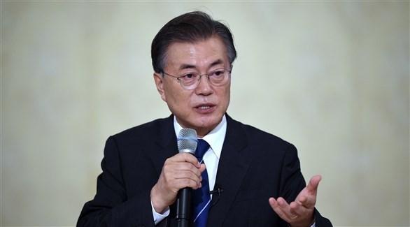 الرئيس الكوري الجنوبي مون جيه إن (أرشيف)
