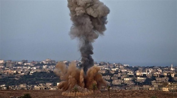 غارة إسرائيلية على غزة (أرشيف)