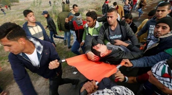 إصابات على حدود غزة (أرشيف)