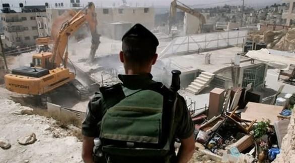 جانب من عمليات الهدم في القدس (أرشيف)