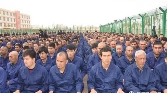 أحد معسكرات اعتقال مسلمي الويغور في الصين (ارشيف)