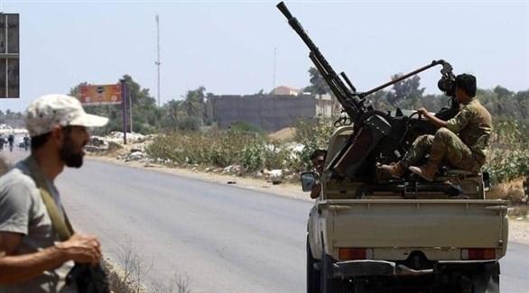 عناصر من قوات الجيش الوطني الليبي في مدينة سبها (أرشيف)