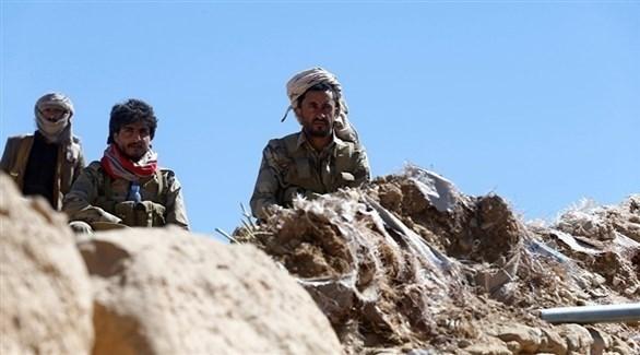 عناصر من الجيش اليمني والمقاومة الشعبية (أرشيف)