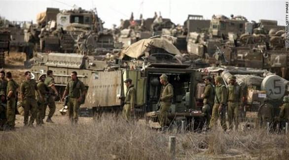 جيش الاحتلال الإسرائيلي على حدود غزة (أرشيف)