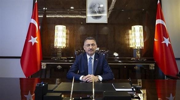 نائب الرئيس التركي فؤاد أوقطاي (أرشيف)