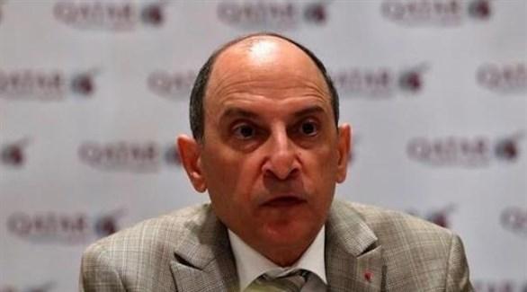 الأمين العام للمجلس الوطني للسياحة في قطر أكبر الباكر (أرشيف)