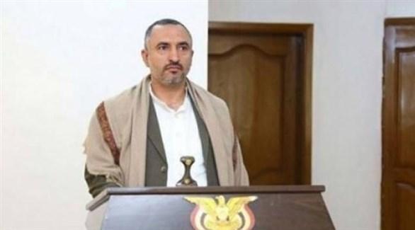 عبد الكریم أمیر الدین حسین الحوثي (أرشيف)