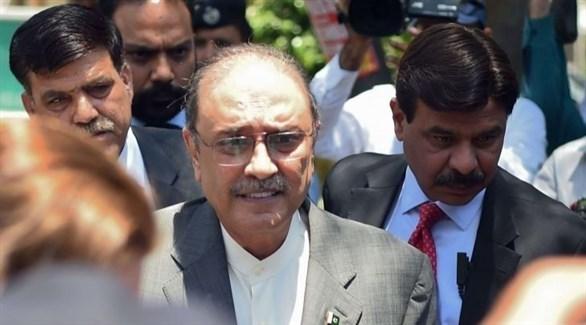 الرئيس الباكستاني السابق عاصف علي زرداري (أرشيف)