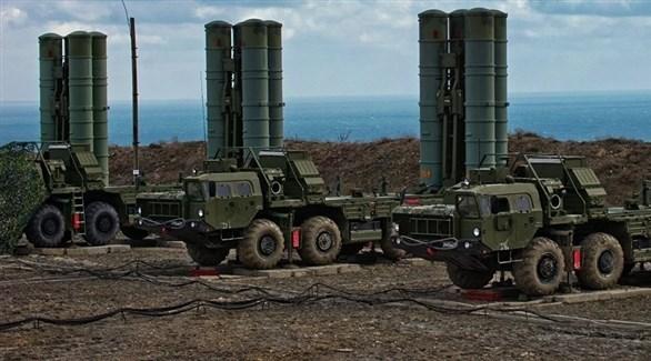 منظومات من إس.400 الصاروخية الروسية (أرشيف)