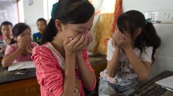 أطفال في أحد المدارس بالصين (أرشيف)