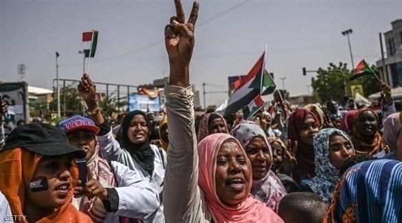 جانب من الاعتصامات في السودان (أرشيف)