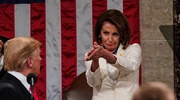 رئيسة مجلس النواب الأمريكي نانسي بيلوسي (أرشيف)