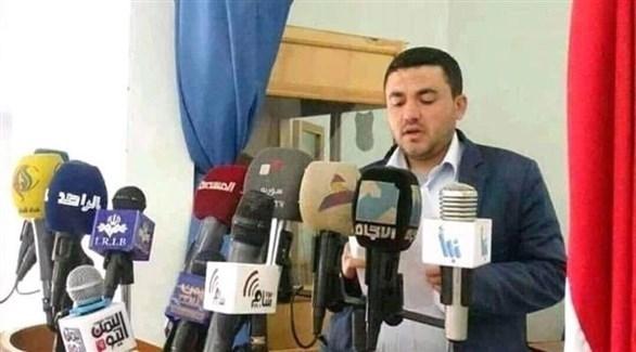 القيادي في ميليشيات الحوثي الإرهابية حمزة محمد الوشلي (أرشيف)