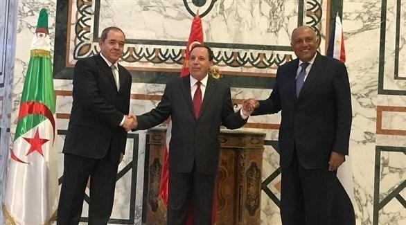 الوزراء خلال الاجتماع (الخارجية المصرية)