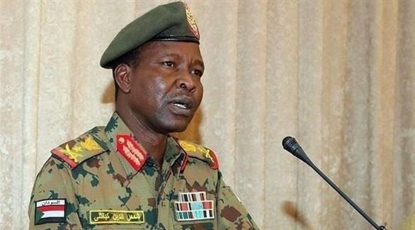 المتحدث باسم المجلس العسكري الحاكم في السودان شمس الدين كباشي (أرشيف)