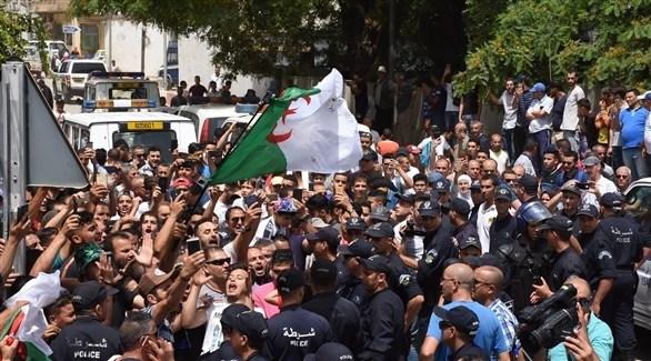جانب من تظاهرات الجزائر (اي بي ايه)