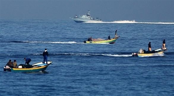 صيادون فلسطينيون في بحر غزة (أرشيف)