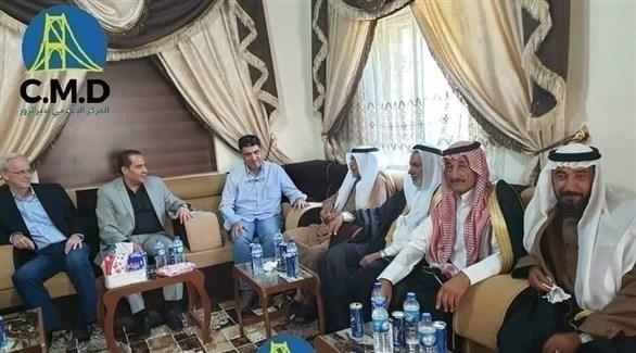 جانب من الاجتماع (المركز الإعلامي بدير الزور)