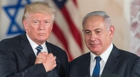الرئيس الأمريكي ترامب ورئيس الوزراء الإسرائيلي نتانياهو (أرشيف)