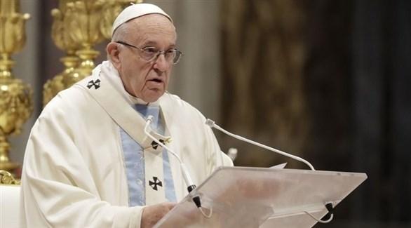 بابا الفاتيكان فرانسيس (أرشيف)