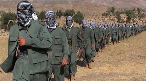 مقاتلون من حزب العمال الكردستاني (أرشيف)