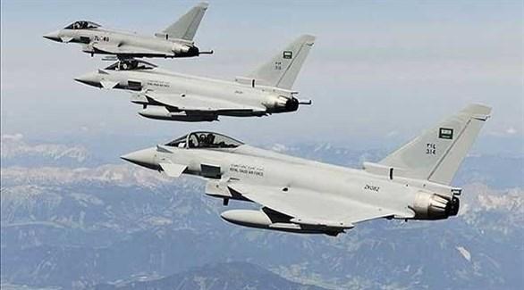 مقاتلات من طيران التحالف العربي (أرشيف)