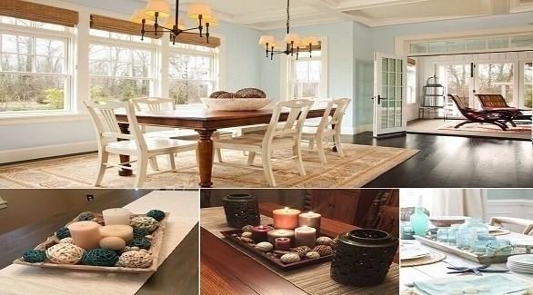 أفكار لطاولة عشاء رومانسية (أميزنغ إنتيرير ديزاين)