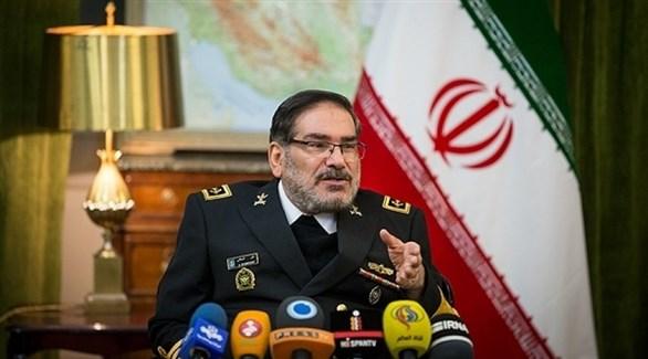 أمين مجلس الأمن القومي الإيراني علي شمخاني (أرشيف)