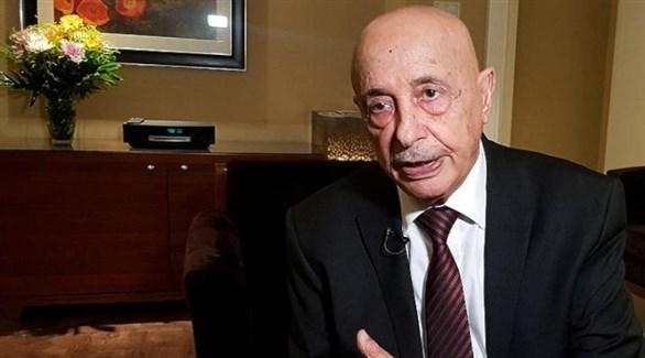 رئيس مجلس النواب الليبي عقيلة صالح (من المصدر)