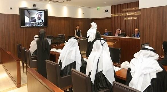 خلال حضور المحامي عن بعد (من المصدر)