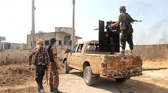 مسلحون في إدلب (أرشيف)