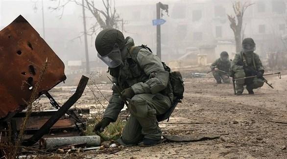 عناصر من القوات الروسية في سوريا (تاس)