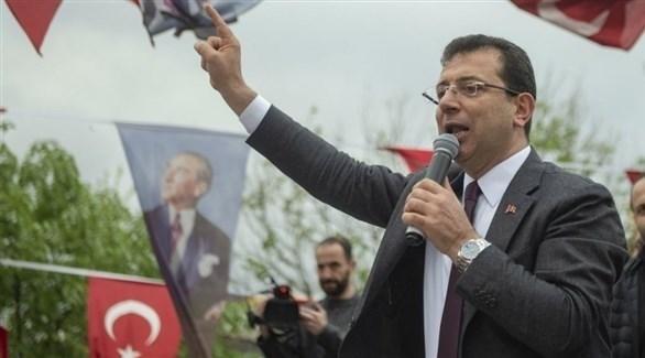مرشح المعارضة التركية لرئاسة بلدية إسطنبول أكرم أوغلو (أرشيف)