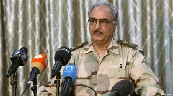 القائد العام للجيش الليبي، خليفة حفتر (أرشيف)