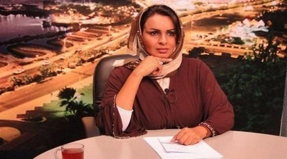الناشطة السعودية روضة اليوسف (أرشيف)