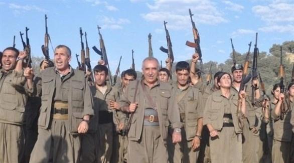 مقاتلون من حزب العمال الكردستاني في تركيا (أرشيف)