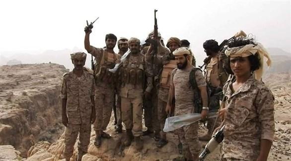 مقاتلون من قوات الجيش الوطني اليمني (أرشيف)