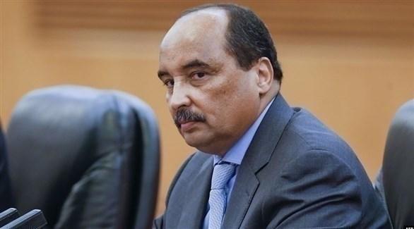 الرئيس الموريتاني المنتهية ولايته محمد ولد عبد العزيز (أرشيف)
