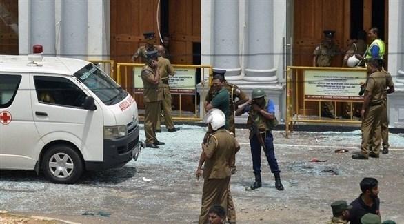 جانب من تفجيرات عيد القيامة في سريلانكا (أرشيف)