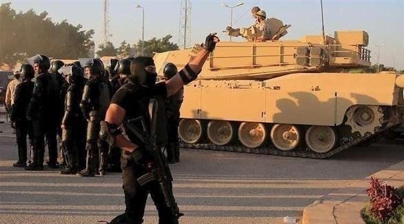 قوات أمنية مصرية في سيناء (أرشيف)