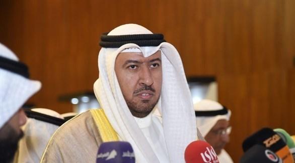 وزير الدولة لشؤون مجلس الأمة الكويتي فهد العفاسي (أرشيف)