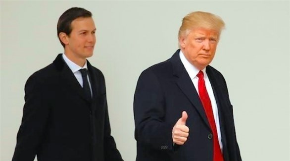 الرئيس الأمريكي دونالد ترامب ومستشارة جاريد كوشنر (أرشيف)