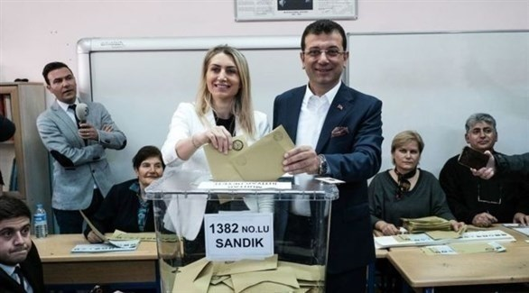 مرشح حزب الشعب الجمهوري المعارض إمام أغلو (أرشيف)