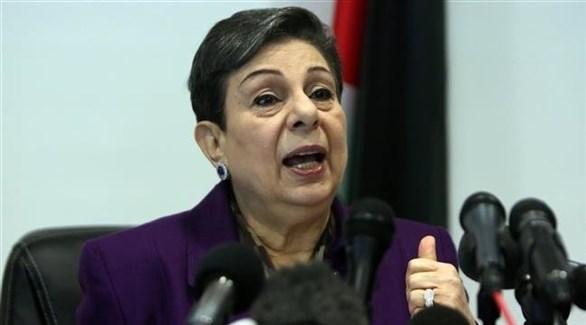 عضو منظمة التحرير الفلسطينية حنان عشراوي (أرشيف)