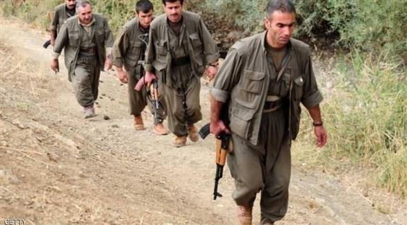 مقاتلون في صفوف حزب العمال الكردستاني (أرشيف)