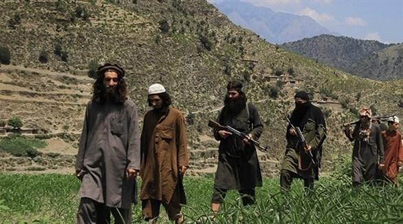مسلحون من داعش في أفغانستان (أرشيف)